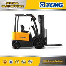 XCMG 3 ton 3000kg 4 wheel AC motor electric forklift truck