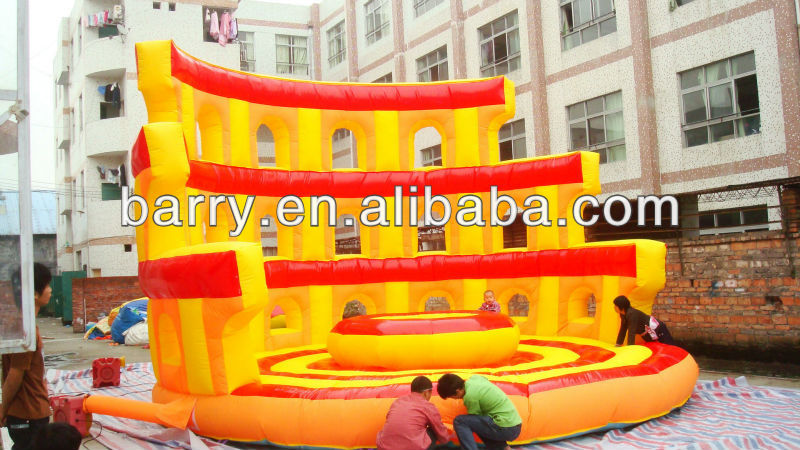 BY Inflatable Game , Jumping and Exhilarating Bouncer