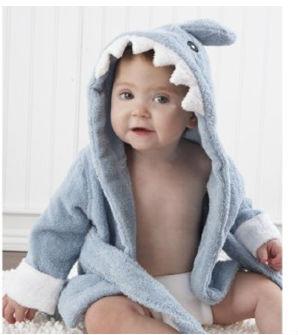 Babykleding Baby.Baby Badstof Haai Gewaad Voor 0 9 Mothes Hoge Kwaliteit Babykleding