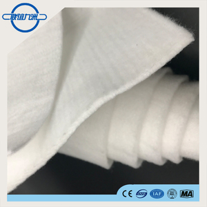 White Color and Sponbonded Polyester Material Nonwoven Polyester geotextiles