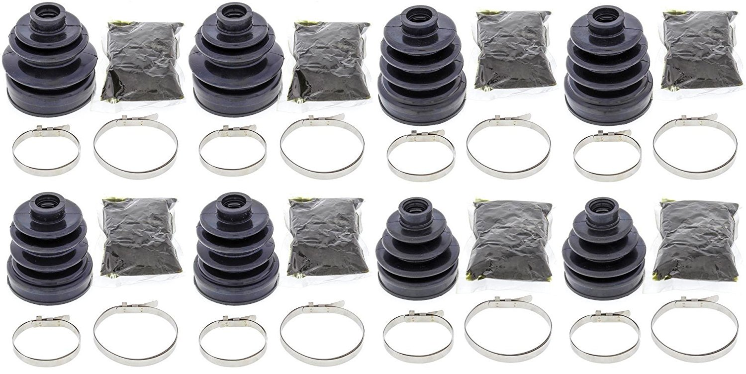 Complete Front Outer CV Boot Repair Kit for Honda TRX500FA 2001-2004