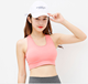 New Design Fashion Mesh Yoga Bra Quick Dry Breathable Ladies Activewear Hollow Seamless Sports Bra