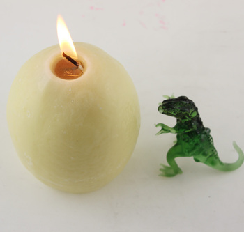 wholesale high quality dinosaur egg candle