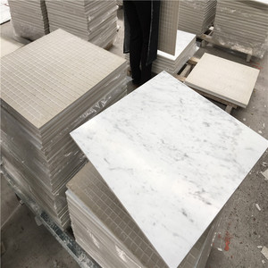 Building construction projects cheap carrara white marble slabs and tiles
