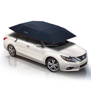 Patent holder Lanmodo 1st generation novelty fordable automatic car sunshade with suction cups