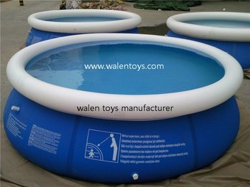 Quick-set Inflatable Pool - Buy Inflatable Pool,Inflatable Swimming  Pool,Inflatable Big Pool Product on Alibaba com