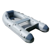 air floor foldable pvc inflatable boat with deep v inflatable keel