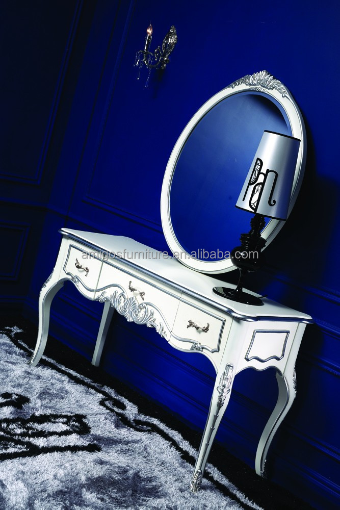 French blue dressing table