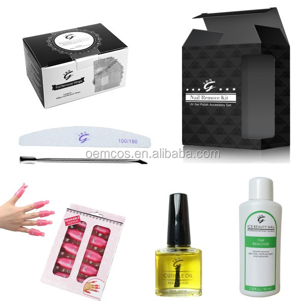 Gel Manicure Kit At Home,Nail Art Kit Professional For Gel