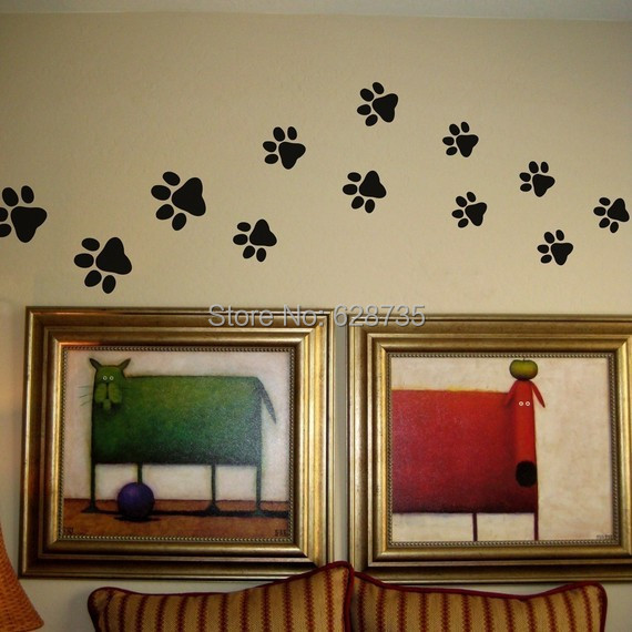 Free Shipping Set Of 2 Pieces Sticker Black Cats Home Wall Cat Decoration Cute Stickers P2044usd 5 22 Lot