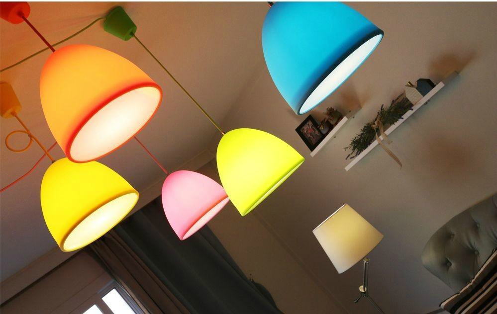 New Style Hot Sale Colorful Decorative Artichoke Pendant Lamp ...