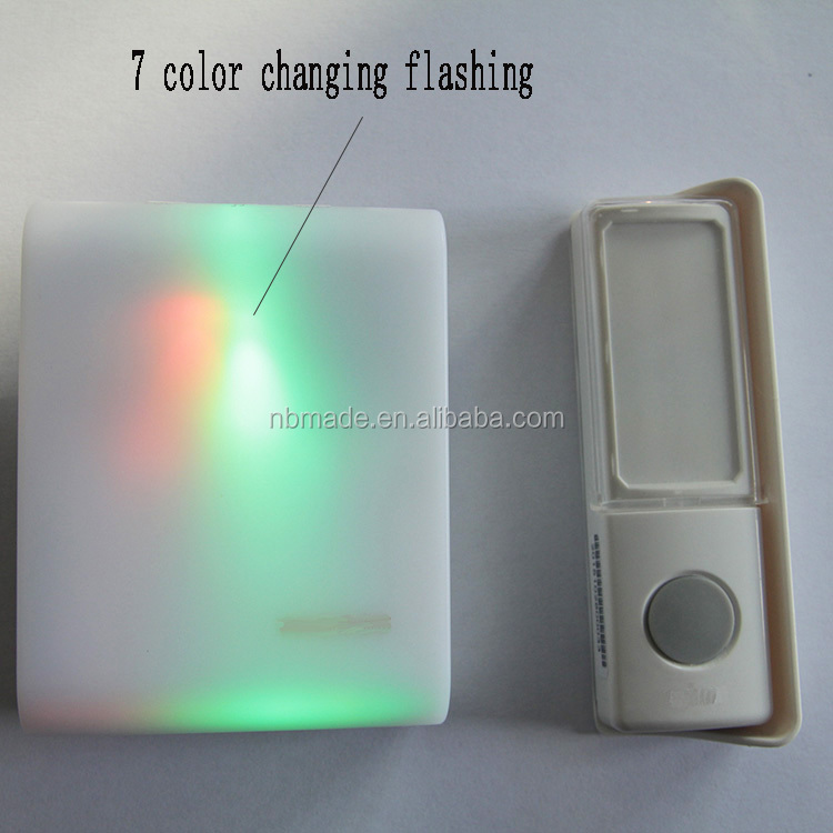 Colorful Wireless Doorbell, Colorful Wireless Doorbell Suppliers and ...