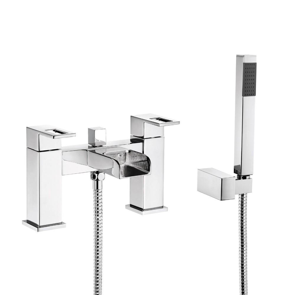 No.bm084 Cheap Desk Mounted Bathroom Bath Shower Mixer