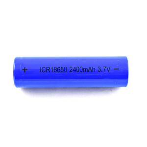 rechargeable li ion battery 18650 3.7v 2400mah for electric bike