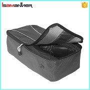 New products unique heavy duty customized wholesale shoe and bag set with zipper