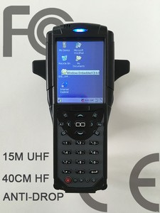 RFID UHF Handheld Industrial PDA Rugged Handheld Computer UHF Bluetooth 3g Rugged RFID PDA with 2d barcode scanner
