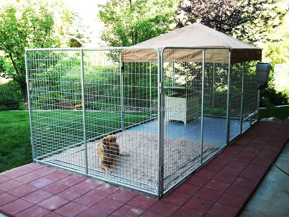 grand lourd duty chien cage pour animaux de compagnie chat barri re cl ture exercice jeu en. Black Bedroom Furniture Sets. Home Design Ideas