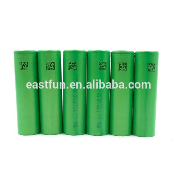 Wholesale 18650 3.7v battery ,2100mah 18650 Battery for Subox mini /EVIC VT