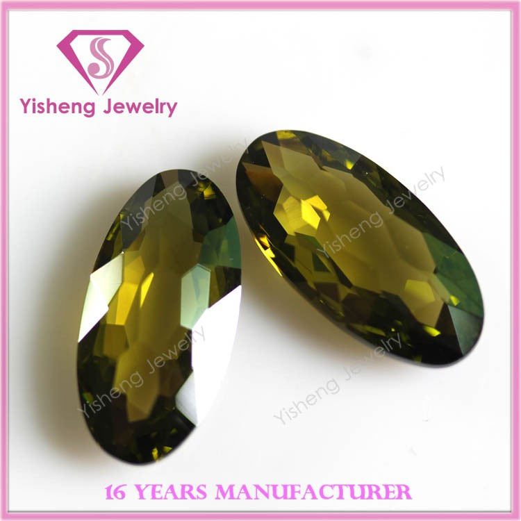 Wholesale Oval Synthetic Diamond Making Machine Cubic Zirconia Gems