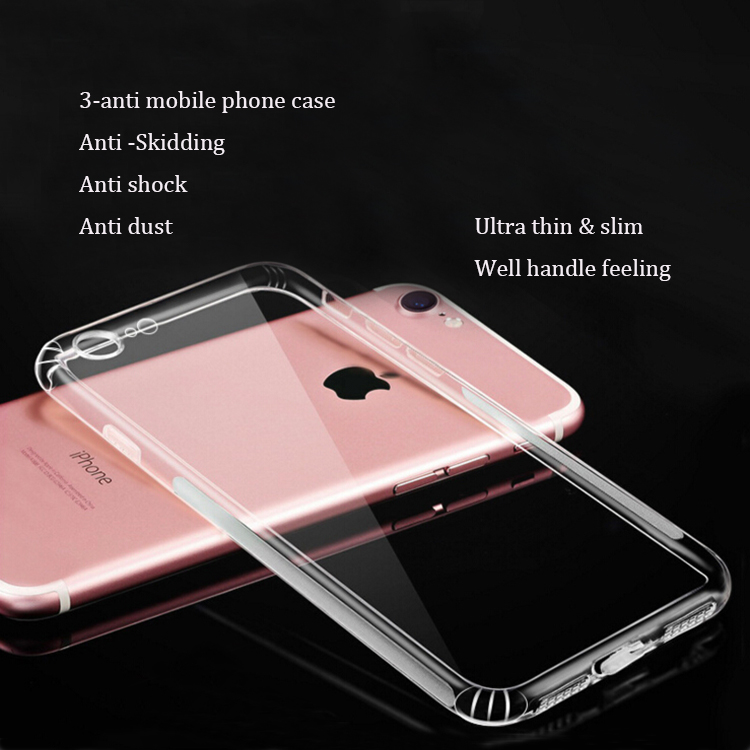 DFIFAN unique phone cases for iphone7 ,clear shockproof anti skidding design for iphone 7