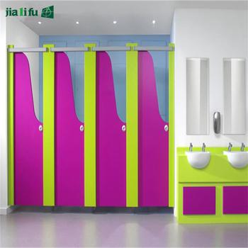 Custom Design Cheap Kindergarten Children Toilet Cubicle