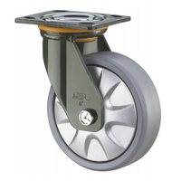 PP PA PU ER Wheel 100 125 150 200 mm Industrial Heavy Duty Casters Wheels