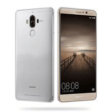 For Huawei Mate 10 Crystal Case, Soft Bumper TPU Clear Anti-scratch Acrylic Hard Cover for Huawei Mate 10 Mobile Phone Back Case