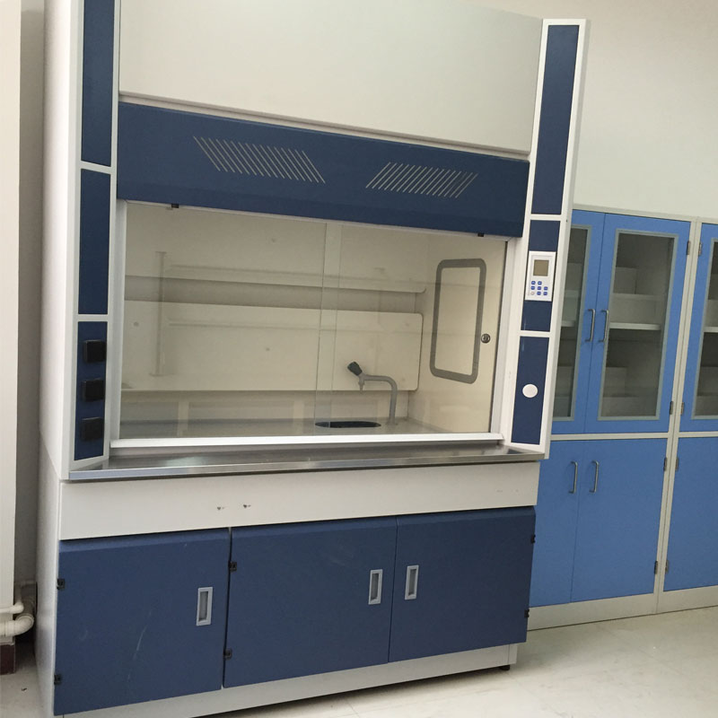 Galvanized steel laboratory fume cupboards hood