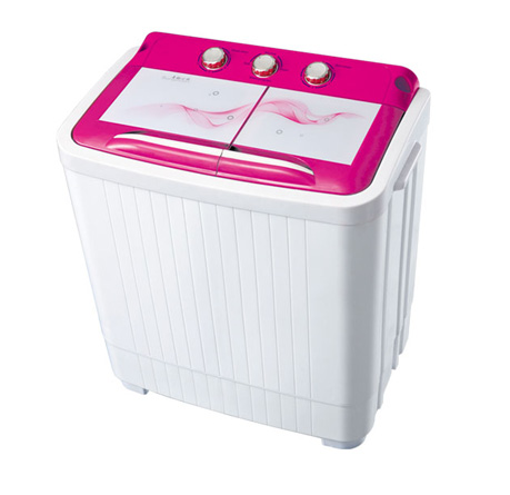 4kg double tub mini washing machine with dryer XPB40-8SD