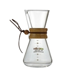 Ecocoffee Heat Proof Glass Coffee Kettle Machine Pour Over Drip Pot V0 Barista Coffee Maker Pot Coffee Percolator