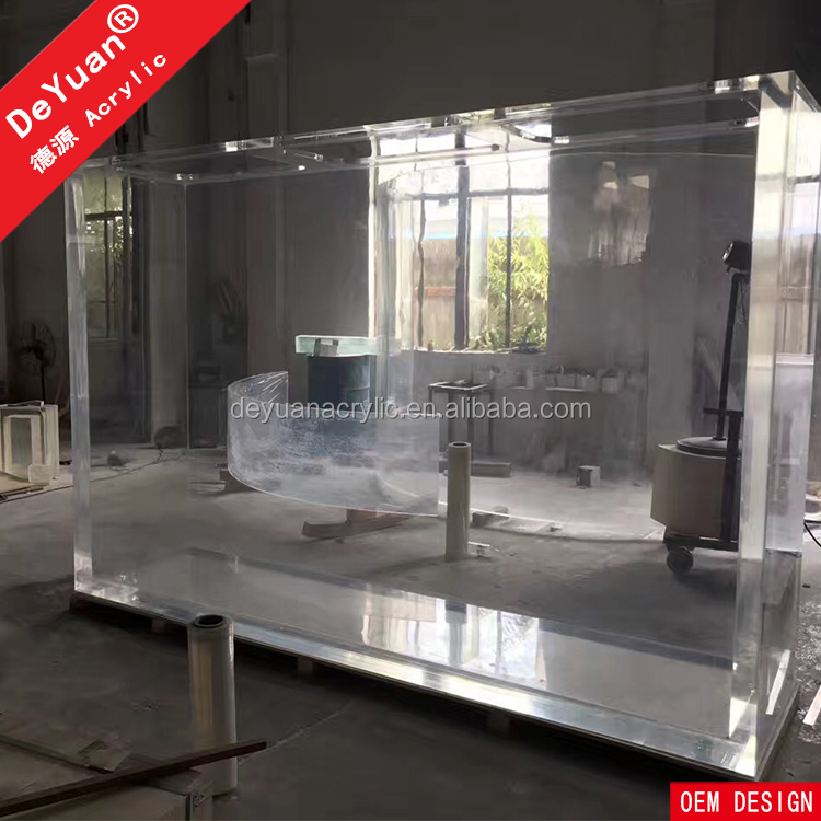 Acrylic Aquarium With Acrylic Panel For Home Decoration