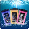 Inflatable PVC Waterproof Pouch Mobile Phone bag for iphone6/durable and soft cellphone case