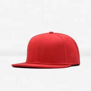 Wholesale Cheap Red Blank Hip Pop Snapback Caps