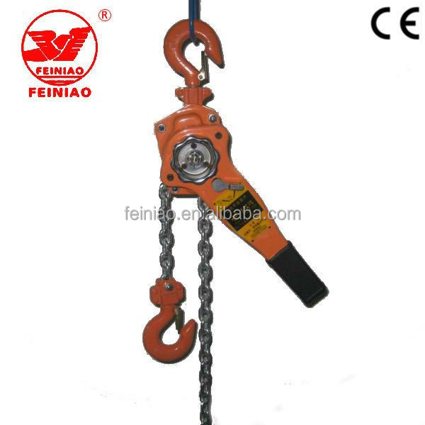 HSZ Type 1 Ton Lever Chain Hoist /Manual Lever Block with G80 Chain