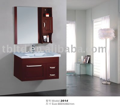 solid wooden bath vanity, oak wood bathroom vanity