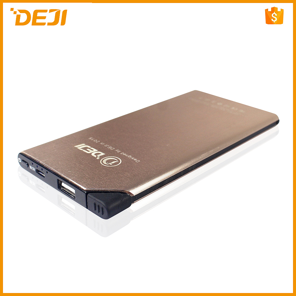Distributor 6000mah power bank for cell phone DJ famous brand shenzhen power bank