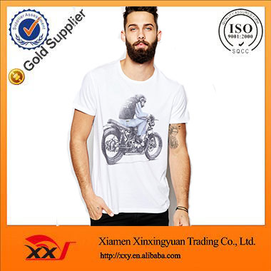 mexico manufacturer custom new model white printing cheap fashion t shirts 1 euro