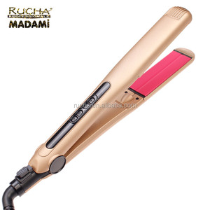 Vibrating function floating plates ceramic flat iron