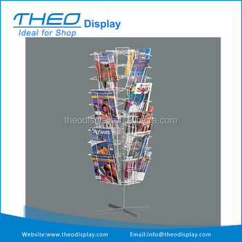 Wire Rack Display Stands | Mobile Revolving Wire Book Display Stand Rack Buy Display Rack