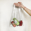 size custom clear plastic pvc handbag transparent beach bag tote bag