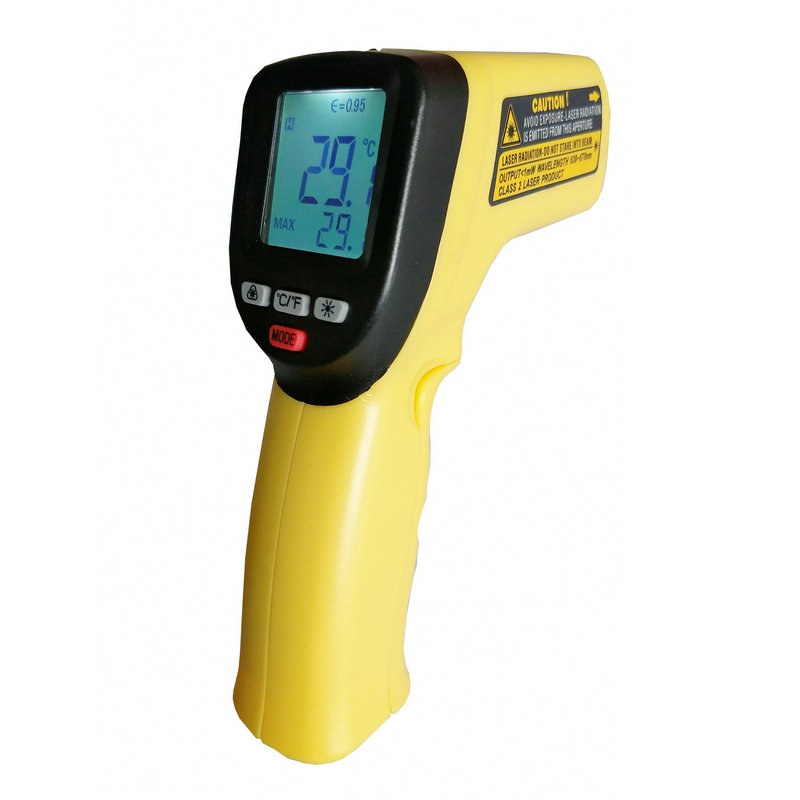 Digital Gun Non Contact Laser Sensor Industry Pyrometer Temperature Industrial Ir Non-contact Type Infrared Thermometer - KingCare | KingCare.net