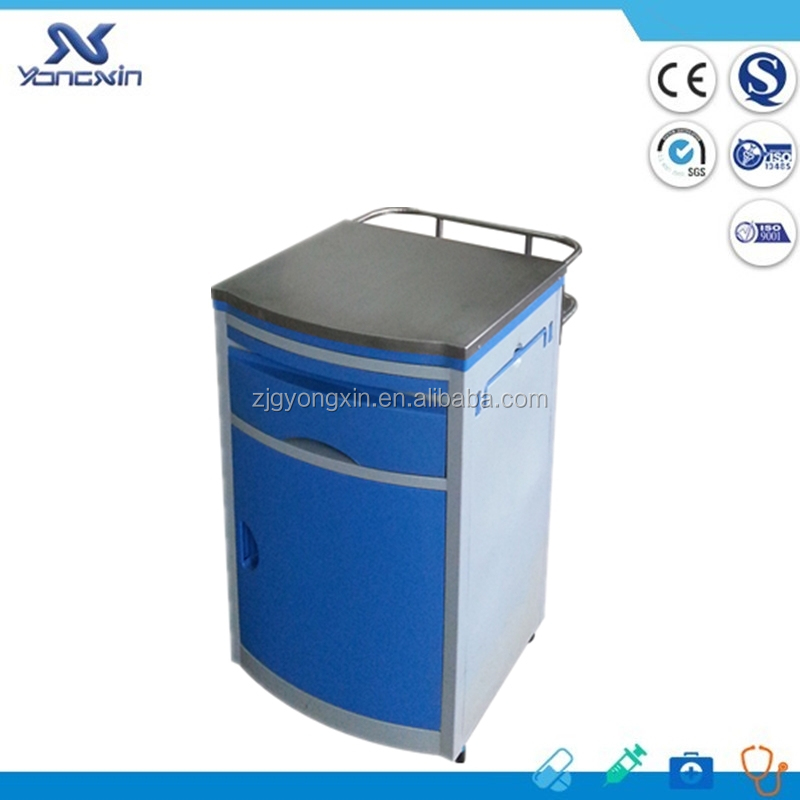 abs beside cabinet medical health supplies with metal top(YXZ-044B)