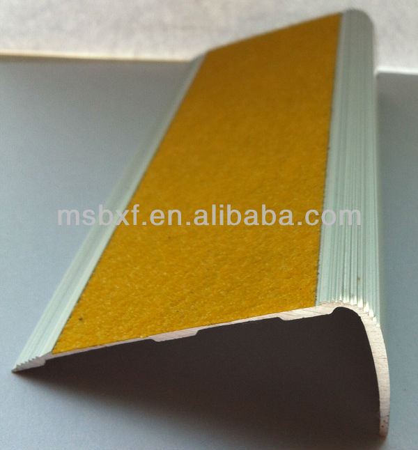 2013 China High Quality Stair Nosing/stair Tread/anti Slip Stickers For  Stair/