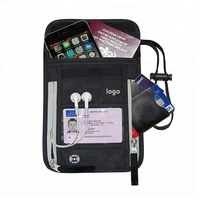 Travel Waterproof Cell Phone Passport holder Wallet Stash Neck Pouch With RFID Blocking