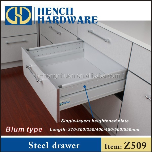 Tool box drawer slides drawer blum