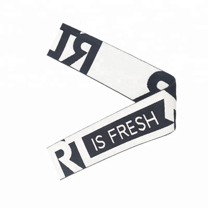 1.25 Inch Custom Logo Wide Soft Nylon Elastic Underwear Band For Clothing
