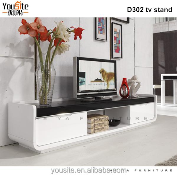 Living Room Furniture Wood Led Tv Wall Unit Design Buy