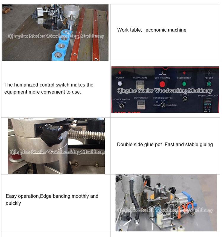 MFB515 Handleiding Rand Trimmen Snijkant Banding Houtbewerking Machine