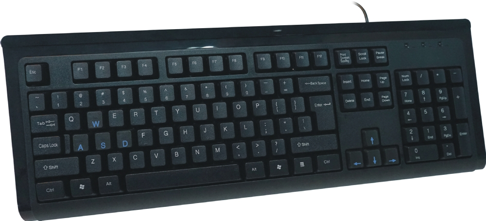 8 Cherry Mechanical Key Switch Keyboard Wired Computer Gaming ...