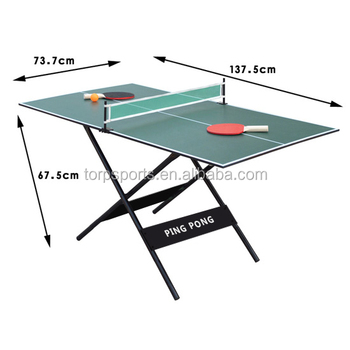 Superb Small Size Table Tennis Table Easy To Carry Pingpong Table